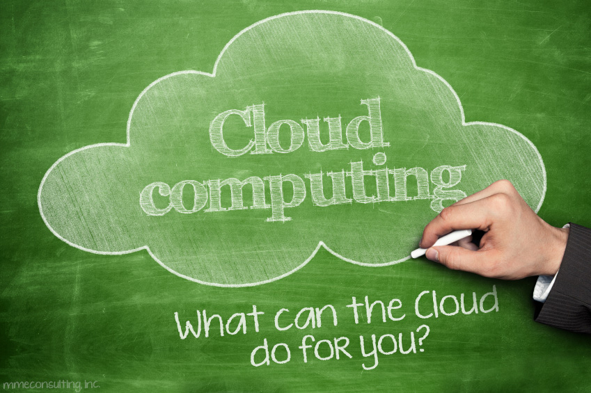 Cloud Computing Chalkboard-What can the Cloud do for you