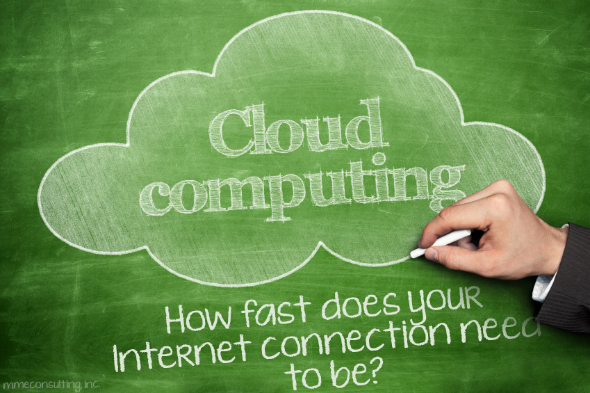 Cloud Computing - How fast does your Internet connection need to be